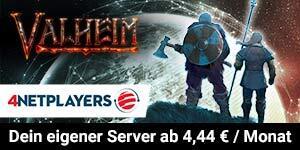 Hol dir jetzt deinen Valheim-Server bei 4Netplayers